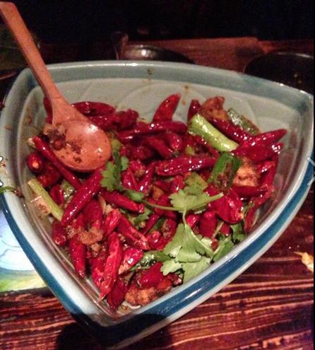 Chicken Sichuan Style
