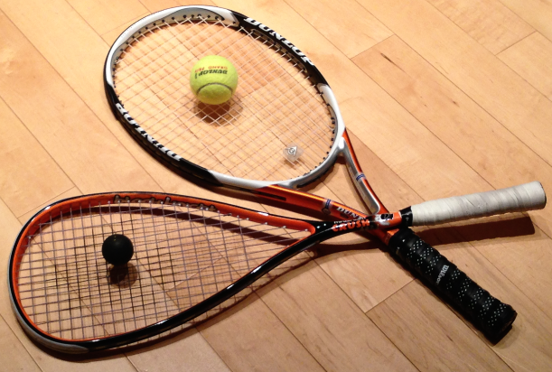 Squash vs racquetball
