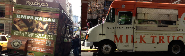 Food Trucks in NYC using social media