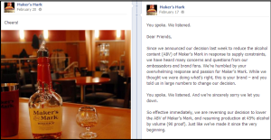 Maker's Mark's Social Media Marketing Success