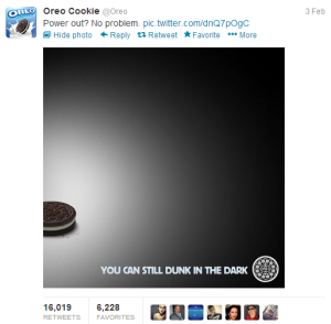 Oreo Real-time marketing