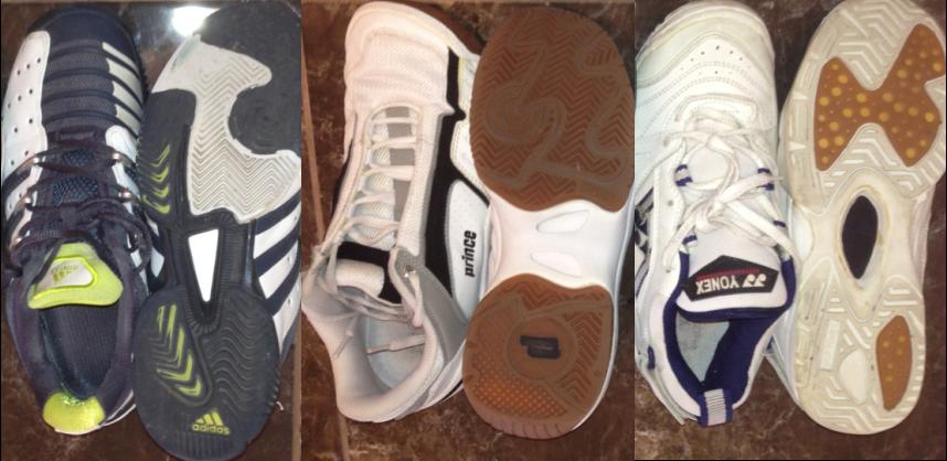 Badminton Shoe Vs Running Shoe