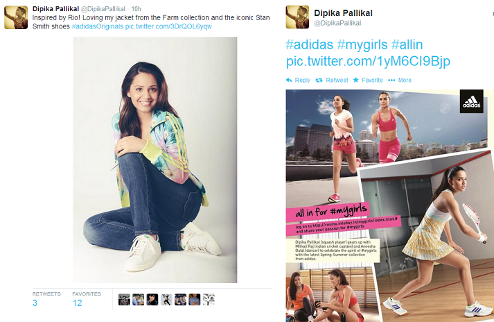 Influence Marketing -  Dipika Pallikal