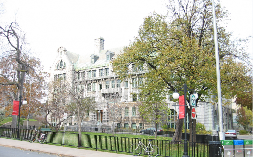 McGill University - Formal Education
