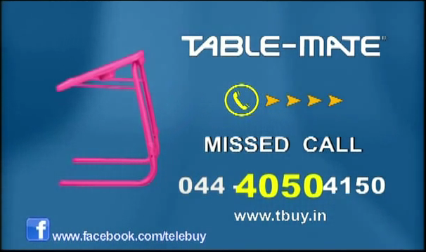 Missed call ad for Table Mate