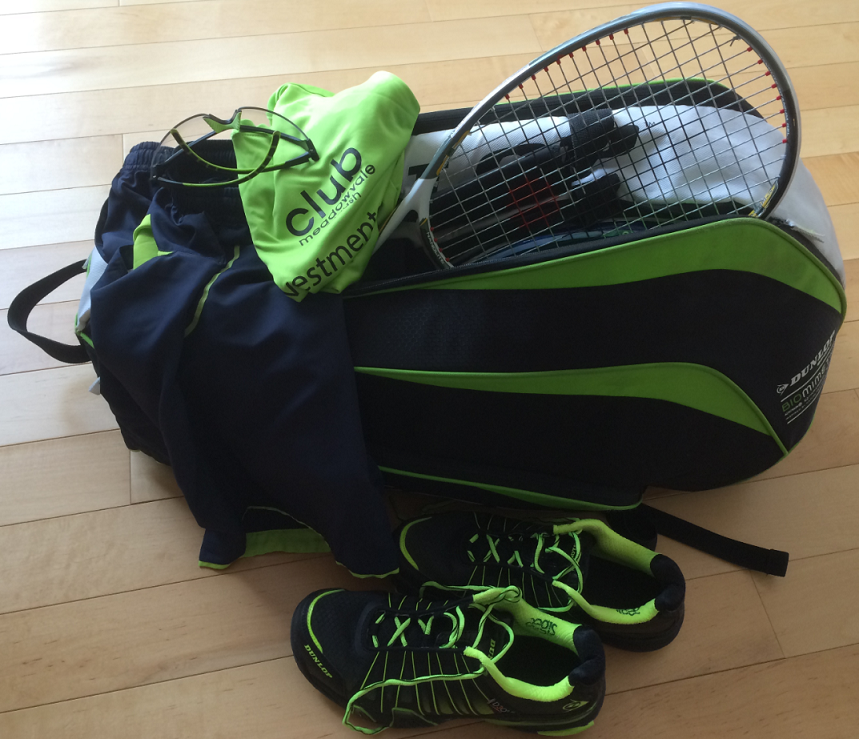 Coordinated Look in Squash & Tennis