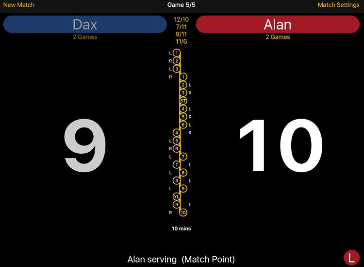 Squash Score - A quash app